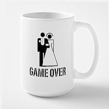 Game Over Bride Groom Wedding Mug