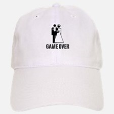 Game Over Bride Groom Wedding Cap
