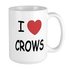 I heart crows Mug