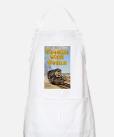 Cooking with Steam - Train - Apron - Grill - BBQ