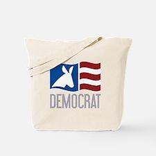 Democrat Donkey Flag Tote Bag