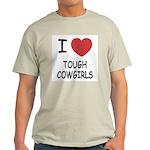 I heart tough cowgirls Light T-Shirt