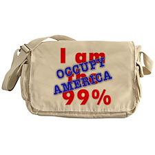 I am the 99% OCCUPY Messenger Bag