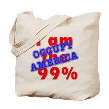 I am the 99% OCCUPY Tote Bag