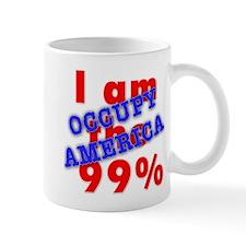I am the 99% OCCUPY Small Mug