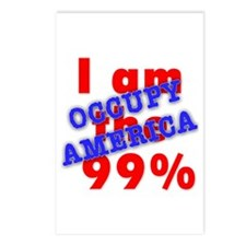 I am the 99% OCCUPY Postcards (Package of 8)