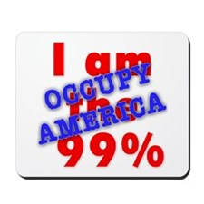 I am the 99% OCCUPY Mousepad
