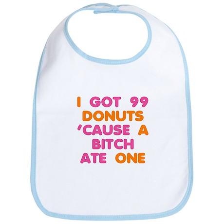 99 Problems Donuts Bib