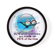 Statistics Wall Clock