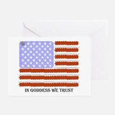 In Goddess we trust Greeting Cards (Pk of 10)