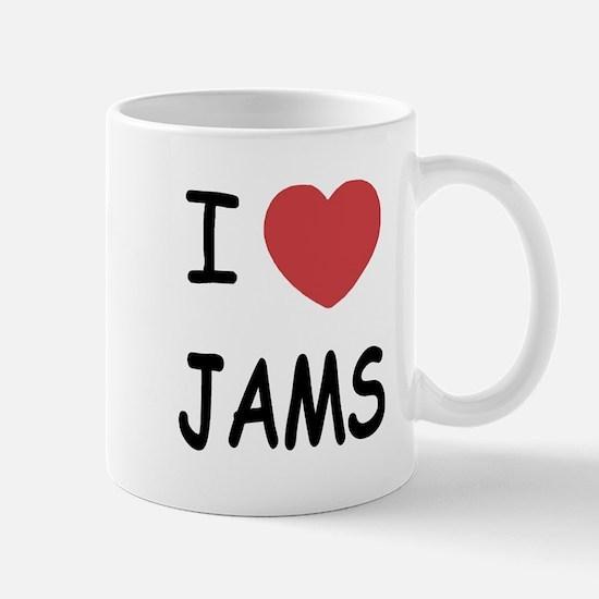 I heart jams Mug