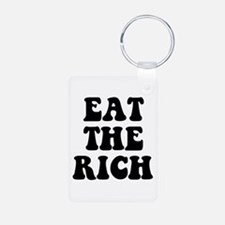 Eat The Rich Occupy Wall Street Protest Keychains