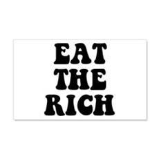 Eat The Rich Occupy Wall Street Protest 22x14 Wall