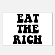 Eat The Rich Occupy Wall Street Protest Postcards