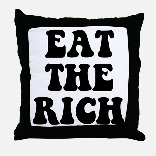 Eat The Rich Occupy Wall Street Protest Throw Pill