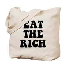 Eat The Rich Occupy Wall Street Protest Tote Bag