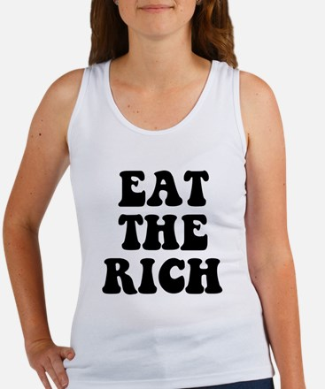 Eat The Rich Occupy Wall Street Protest Women's Ta
