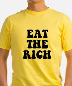 Eat The Rich Occupy Wall Street Protest T