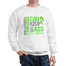 NH Lymphoma Can Kiss Ass Sweatshirt