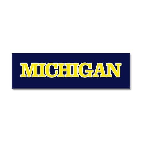 Michigan Car Magnet 10 x 3