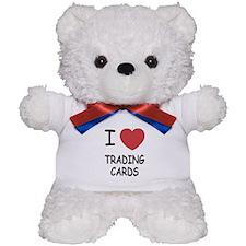 I heart trading cards Teddy Bear