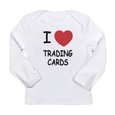 I heart trading cards Long Sleeve Infant T-Shirt
