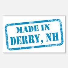 MADE IN DERRY Sticker (Rectangle)