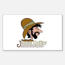 James Coffey II Sticker (Rectangle)