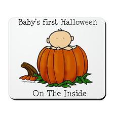 First Halloween inside (lt) Mousepad