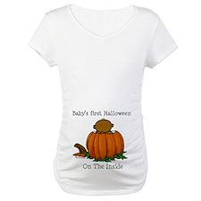 First Halloween inside (drk) Shirt