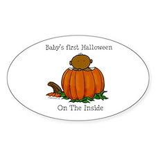 First Halloween inside (drk) Decal