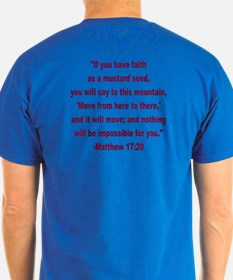 What Did Jesus Say--Mustard Seed T-Shirt