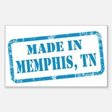 MADE IN MEMPHIS Sticker (Rectangle)