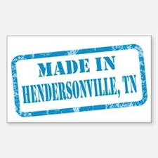 MADE IN HENDERSONVILLE Decal