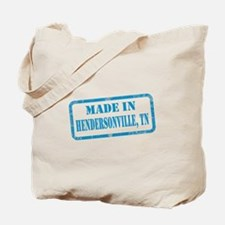 MADE IN HENDERSONVILLE Tote Bag