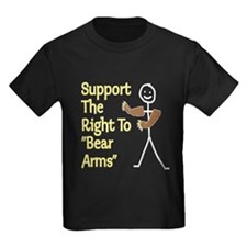 "Support The Right to ""Bear Arms"" T"