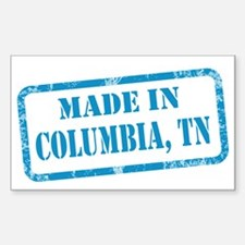 MADE IN COLUMBIA Decal