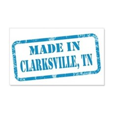 MADE IN CLARKSVILLE 22x14 Wall Peel