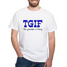 TGIF This Grandpa is Fun Shirt