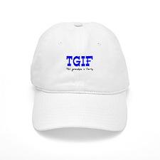TGIF This Grandpa is Fun Baseball Cap