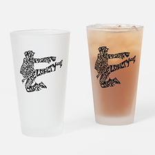 LIFE SKILLS KICKER Drinking Glass