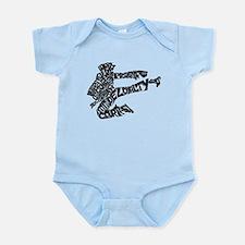 LIFE SKILLS KICKER Infant Bodysuit