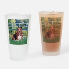 Lily Bridge Basset (#1) Drinking Glass