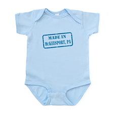 MADE IN MCKEESPORT Infant Bodysuit