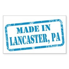 MADE IN LANCASTER Decal