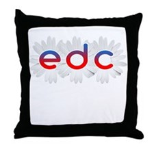 Funny Dance music Throw Pillow
