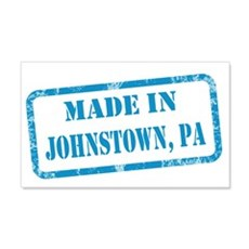 MADE IN JOHNSTOWN 22x14 Wall Peel