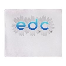 Cute Electric daisy carnival Throw Blanket