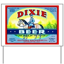 North Carolina Beer Label 1 Yard Sign