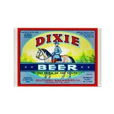 North Carolina Beer Label 1 Rectangle Magnet (10 p